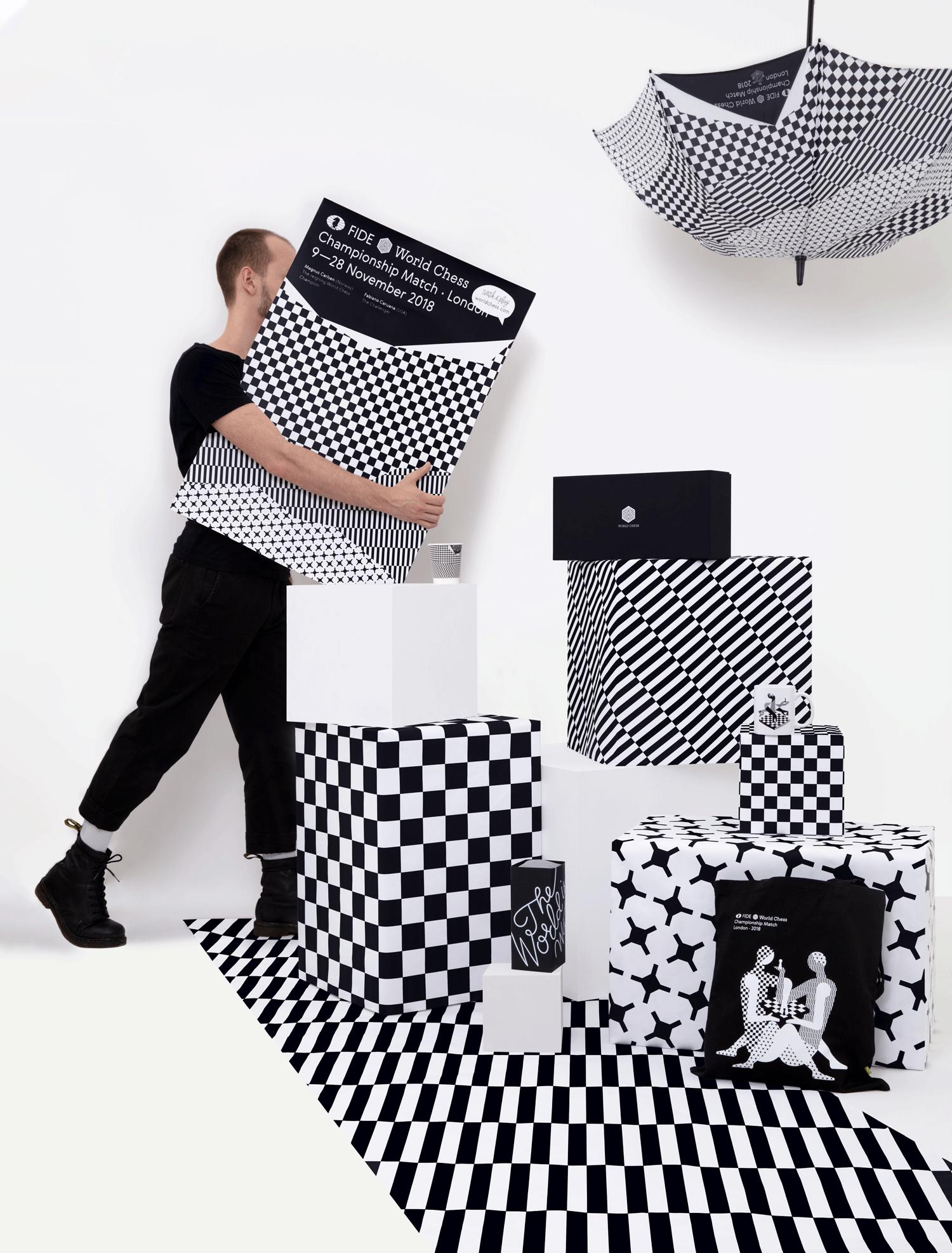 Shuka ♞ 2018 London chess championship venue branding
